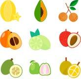 Icona della frutta Fotografia Stock Libera da Diritti