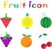 Icona della frutta Immagine Stock