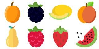 Icona della frutta di estate Fotografia Stock