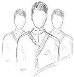 Icona della gente del gruppo di utenti Immagini Stock