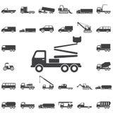 icona della gru del camion royalty illustrazione gratis