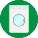 Icona della lavatrice Immagini Stock