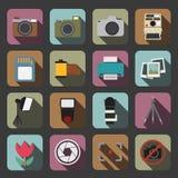 Icona della macchina fotografica Immagine Stock