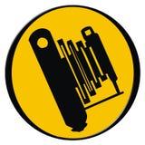 Icona della macchina fotografica dell'annata Fotografie Stock Libere da Diritti