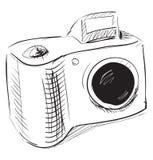 Icona della macchina fotografica della foto Fotografie Stock Libere da Diritti