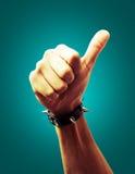 Icona della mano Fotografia Stock