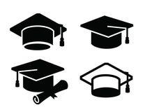 Icona della mappa di graduazione illustrazione di stock