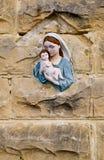 Icona della Mary di Virgin Fotografie Stock