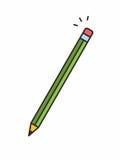 Icona della matita Immagine Stock Libera da Diritti