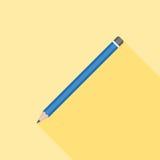 Icona della matita Fotografia Stock