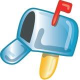 Icona della posta Fotografie Stock