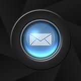 Icona della posta Immagine Stock