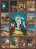 Icona della resurrezione di Jesus Christ fotografie stock libere da diritti