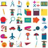 Icona 3 della scuola illustrazione vettoriale