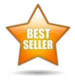 Icona della stella del bestseller Fotografia Stock