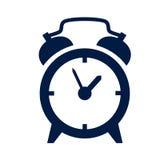 Icona della sveglia Fotografia Stock Libera da Diritti