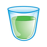 Icona della tazza della medicina illustrazione di stock