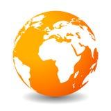 Icona della terra Fotografia Stock Libera da Diritti