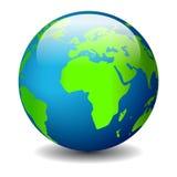 Icona della terra del globo Immagine Stock Libera da Diritti