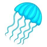 Icona delle meduse, stile del fumetto royalty illustrazione gratis