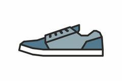 Icona delle scarpe da tennis Immagini Stock Libere da Diritti