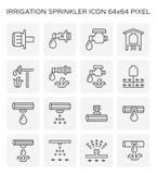 Icona dello spruzzatore dell'acqua royalty illustrazione gratis