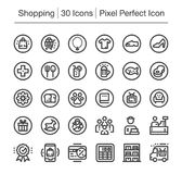 Icona di acquisto illustrazione di stock