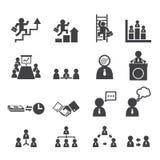 Icona di affari Fotografia Stock