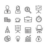 Icona di affari, vettore illustrazione di stock