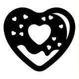 Icona di amore o segno di San Valentino progettato per la celebrazione royalty illustrazione gratis