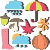 Icona di autunno Fotografia Stock Libera da Diritti