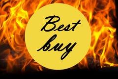 Icona di Best Buy Immagine Stock Libera da Diritti
