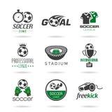 Icona di calcio messa - 2 illustrazione di stock