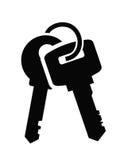 Icona di chiavi Immagine Stock Libera da Diritti