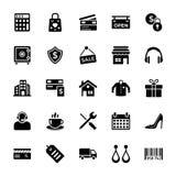 Icona di commercio e di acquisto royalty illustrazione gratis