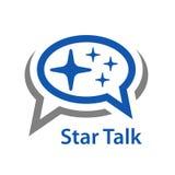 Icona di conversazione della stella del fumetto royalty illustrazione gratis