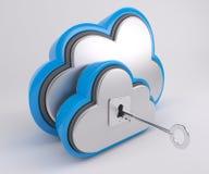 icona di 3D Cloud Drive Illustrazione di Stock