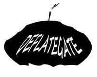 Icona di Deflategate Fotografie Stock