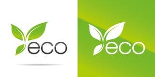 Icona di ecologia Immagini Stock