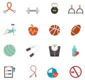 Icona di forma fisica e di salute royalty illustrazione gratis