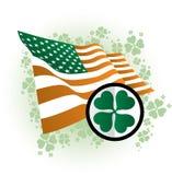 Icona di giorno della st Patrick illustrazione di stock