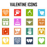 Icona di giorno di S. Valentino Immagine Stock