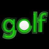 Icona di golf royalty illustrazione gratis