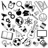 Icona di istruzione Fotografie Stock
