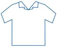 Icona di istruzione per la lavanderia,   Fotografia Stock