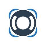 Icona di Lifebuoy Immagine Stock