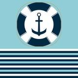 Icona di Lifebuoy Illustrazione di vettore simbolo di sicurezza Fotografie Stock