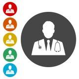 Icona di medico illustrazione vettoriale