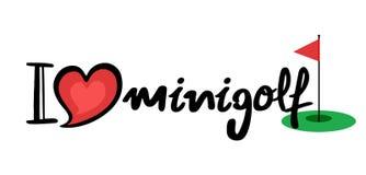 Icona di Minigolf royalty illustrazione gratis