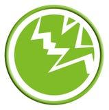 Icona di modo di elettricità Fotografia Stock Libera da Diritti
